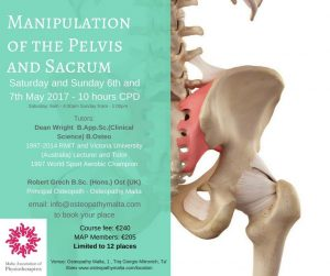 Manipulation of the Pelvis and Sacrum Course